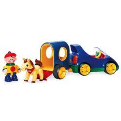 اسباب بازی یدک کش اسب پسرونه تولو Tolo