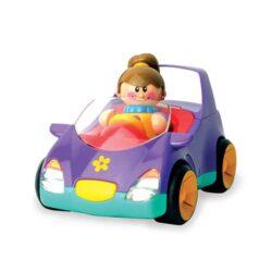 اسباب بازی ماشین و عروسک دختر تولو
