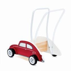 واکر چوبی اتومبیل فولکس قرمز Hape هپه