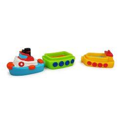 اسباب بازی ست قایق های آهنربایی TOLO