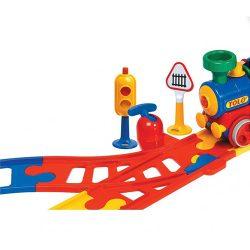 اسباب بازی سوزنبان ریل قطار TOLO