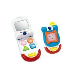اسباب بازی موبایل آیینه دار موزیکال Winfun