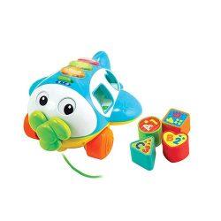 اسباب بازی هواپیمای پازلی موزیکال Winfun