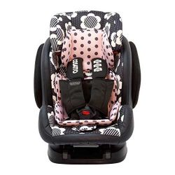 صندلی ماشین کوزاتو طرح گل و نقطه