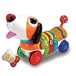 عروسک سگ رنگین کمان کنترلی Winfun