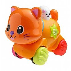 عروسک گربه موزیکال چرخ دار Winfun