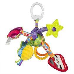 اسباب بازی آویز جغجغه و دندانگیر Lamaze