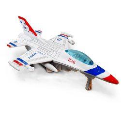اسباب بازی هواپیما جت جنگی F-16