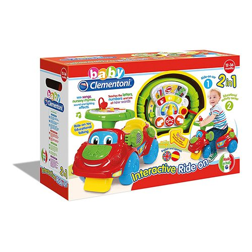 اسباب بازی ماشین چرخ دار Clementoni