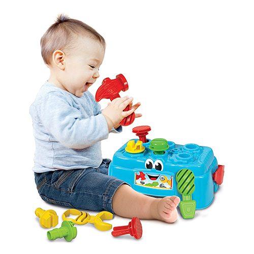 اسباب بازی میز و جعبه ابزار Clementoni