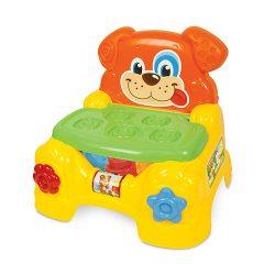 اسباب بازی پازل و صندلی طرح سگ Clementoni