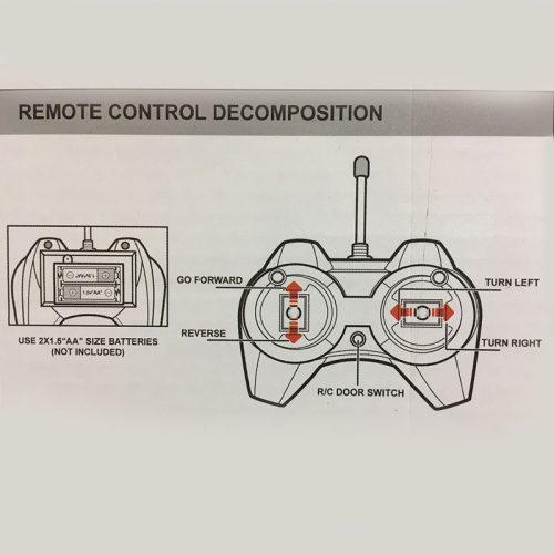 ماشین کنترلی وانت شورلت -1