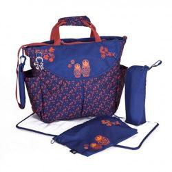 کیف مادر سرمه ای قرمز اکی داگ Okiedog SUMO