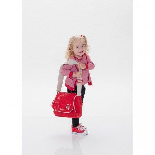 کیف مادر قرمز اکی داگ Okiedog Genie Urban