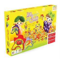 اسباب بازی بچین و بریز میوه ها