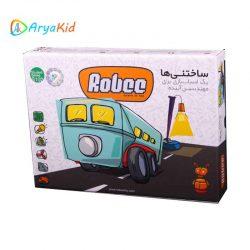اسباب بازی فکری ساختنی رباتیک robee S102