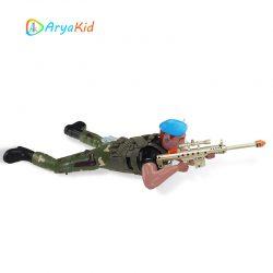سرباز سینه خیز و تک تیرانداز کنترلی