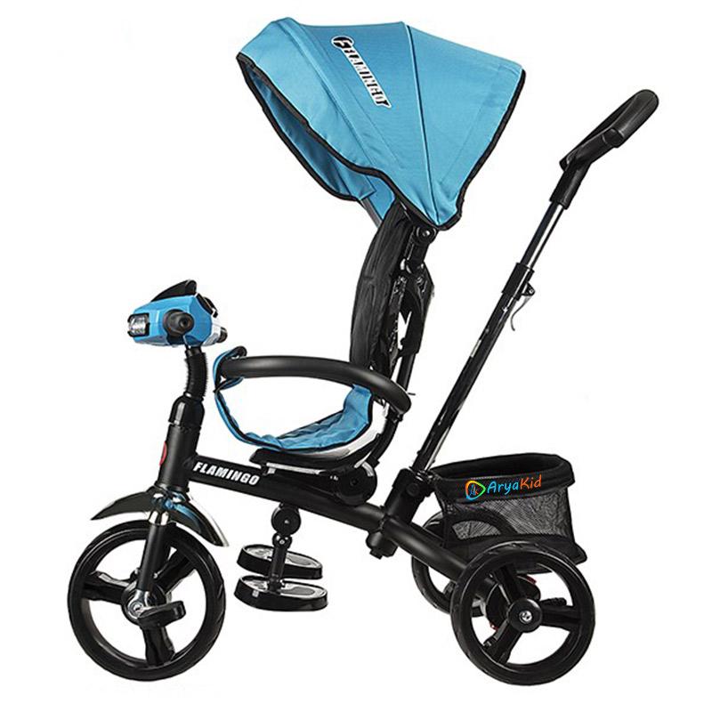 چمدان نوجوان سه چرخه فلامینگو T200 - فروشگاه اینترنتی کالای کودک و ...