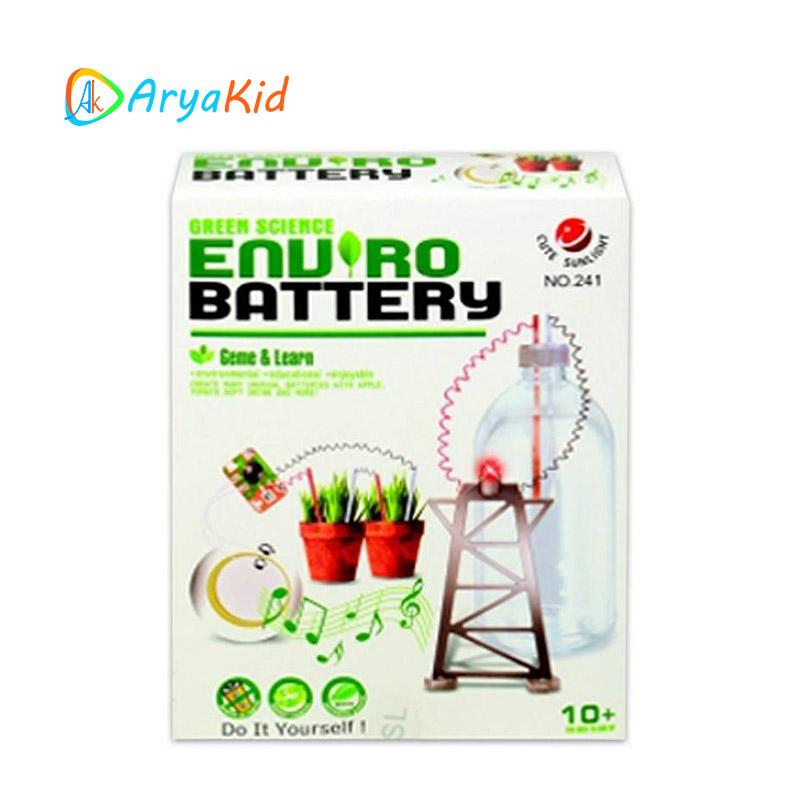 کیت آموزشی تولید برق Enuro Battery
