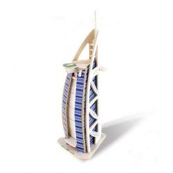 پازل سه بعدی چوبی هتل برج العرب