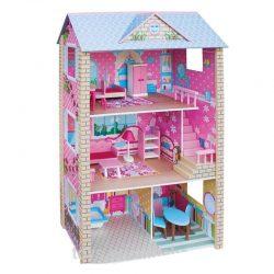 خانه چوبی بزرگ مبله ۳ طبقه