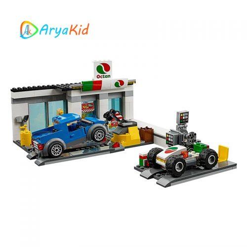 لگو ایستگاه خدمات ۵۱۵ قطعه سری LEGO CITY