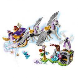 لگو سورتمه و اسب بالدار ۳۱۹ قطعه سری LEGO ELVES