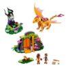 لگو غار دراگون آتش ۴۴۱ قطعه سری LEGO ELVES