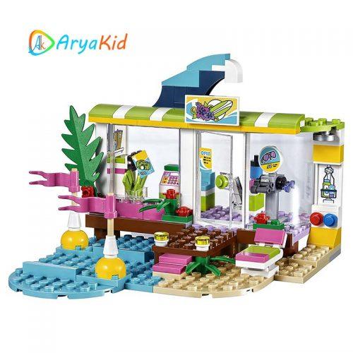 لگو فروشگاه کنار دریا ۱۸۶ قطعه سری LEGO Friends