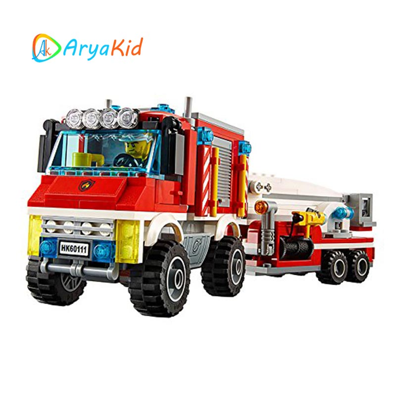 لگو ماشین آتشنشانی ۳۶۸ قطعه سری LEGO CITY