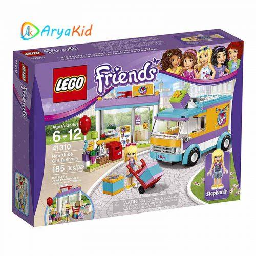 لگو ماشین پست ۱۸۵ قطعه سری LEGO Friends