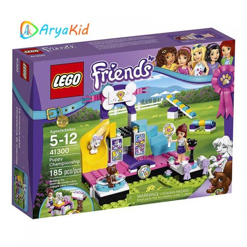 لگو مسابقه پاپی ۱۸۵ قطعه سری LEGO Friends