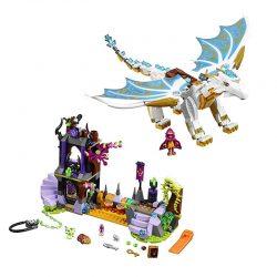 لگو نجات دراگون ملکه ۸۳۳ قطعه سری LEGO ELVES