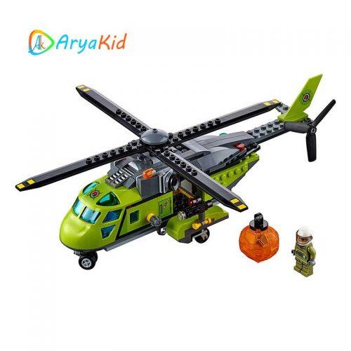 لگو کاوشگران آتشفشان ۳۳۰ قطعه سری LEGO CITY