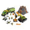 لگو کاوشگران آتشفشان ۸۲۴ قطعه سری LEGO CITY