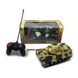 تانک کنترلی طرح ارتشی با نور و صدا
