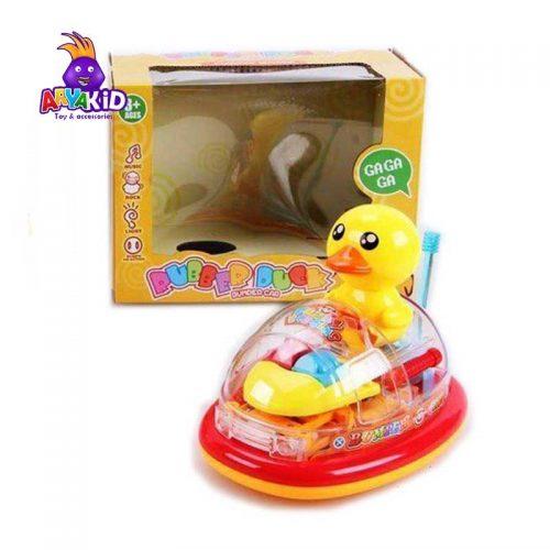 جوجه اردک کارتینگ سوار موزیکال