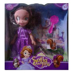 عروسک سوفیا با شانه DISNEY PRINCESS