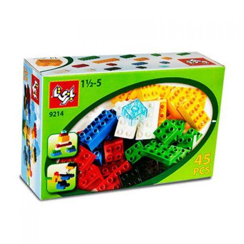 لگو ۴۵ قطعه مدل ۹۲۱۴ بازی تا