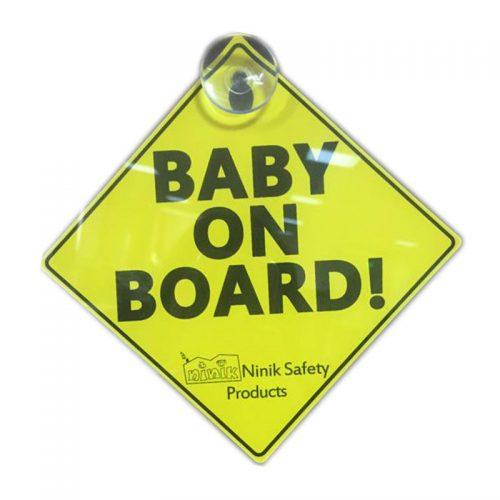 آویز هشدار کودک در ماشین نی نی ک