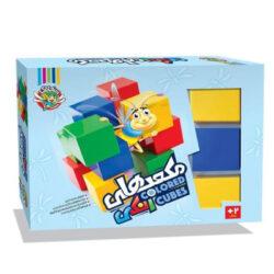اسباب بازی مکعب های رنگی سنجاقک