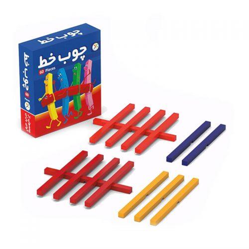اسباب بازی چوب خط ۶۰ عددی