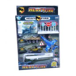 ست وسایل نقلیه نظامی و تجهیزات