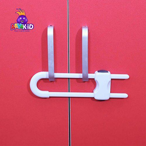 قفل کابینت کودک دو عددی نینیک8