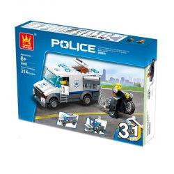 لگوی ماشین پلیس ۲۱۴ قطعه