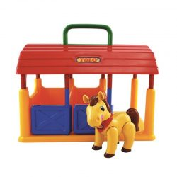 اسباب بازی اصطبل اسب تولو