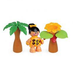 اسباب بازی دختر غار نشین تولو