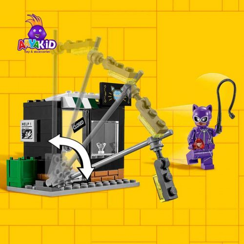 لگو تعقیب و گریز ۱۳۹ قطعه سری LEGO BATMAN4