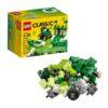 لگو جعبه خلاق سبز ۶۶ قطعه سری LEGO CLASSIC