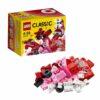 لگو جعبه خلاق قرمز ۵۵ قطعه سری LEGO CLASSIC